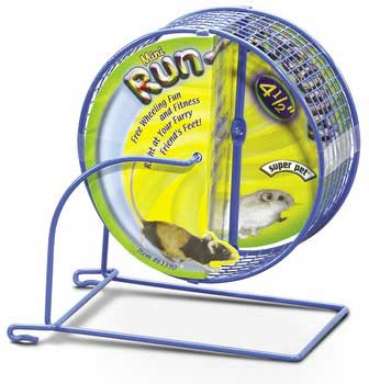 Super Pet Run-around Wheel Mini 4.5in Diameter