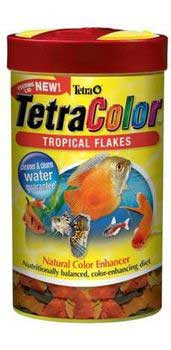 Tetra Tetracolor Tropical Flakes With Feeding Lid 1oz