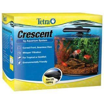 Tetra Crescent Aquarium Kit 5 Gal