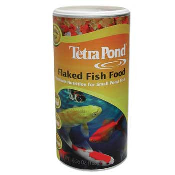 Tetra Pond Flaked Fish Food 6.35oz