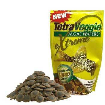 Tetra Tetraveggie Algae Wafers 2-color Pouch Bag 2.12oz