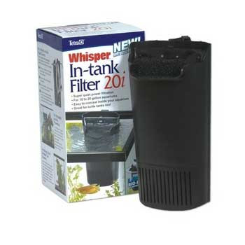 Tetra Whisper 20i Internal Power Filter With Bio-scrubber