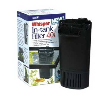 Tetra Whisper 40i Internal Power Filter With Bio-scurbber