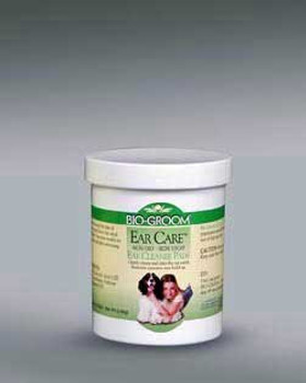 Bio-Groom Ear Care Non-oily Non-sticky Medicated Ear Cleaner Pads 25pk