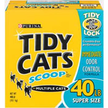 Tidy Cats Immediate Odor Control Scooping Multi Ca-95604