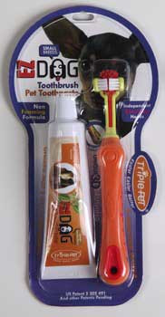 TRIPLE PETFetch For Pets Ezdog Dental Kit For Small Breeds
