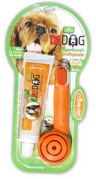 TRIPLE PETEzdog Finger Brush Kit