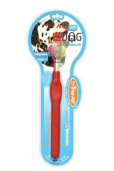 TRIPLE PETFetch For Pets Ezdog Toothbrush For Large Breeds