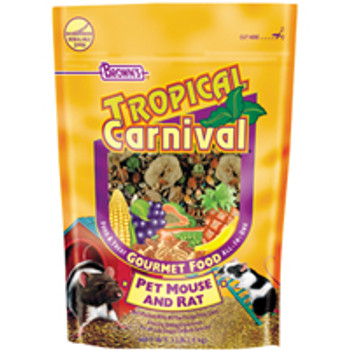 F.M. Brown's Tropical Carnival Ratmouse Food 2lb-90580