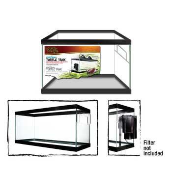 "Zilla Turtle Tank 10 Gallon Black 20x10x12"" H SD-X Free Store Pick Up - NO SHIPPING"