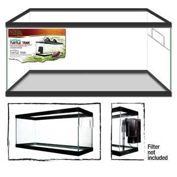"Zilla Turtle Tank 40 Breeder Black 36x18x16"" H SD-X Free Store Pick Up - NO SHIPPING"