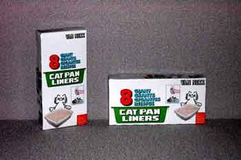Van Ness Cat Pan Liner 8 Pack Giant