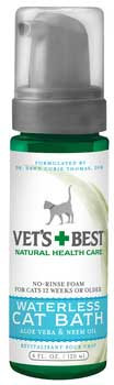 Veterinarian's Best Waterless Cat Bath 4oz