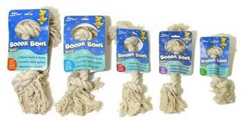 Aspen Pet Booda 2-knot Rope Bone Large