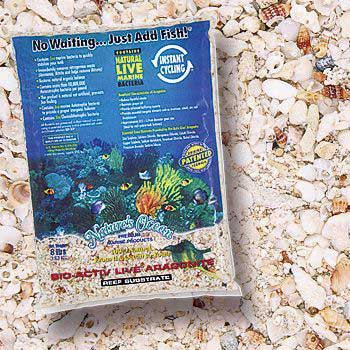 World Wide Imports Natures Ocean Bio-activ Live Aragonite Live Reef Substrate 16lb
