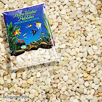 World Wide Imports Pure Water Pebbles Premium Fresh Water Substrates Carolina 5lb