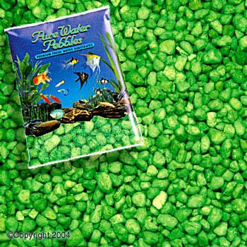 World Wide Imports World Wide Neon Pebble 5lb Green-78548