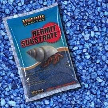 World Wide Imports Hermit Habitat Gravel Blue Lagoon 2lb