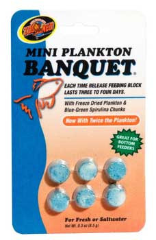 Zoo Med Aquatrol Plankton Banquet Block Feeder Mini 6 Cd. SD-5