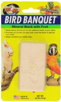 Zoo Med Banquet Fruit Mineral Block Large