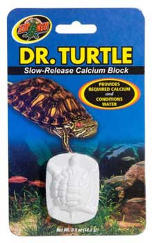 Zoo Med Dr. Turtle Slow-release Calcium Block