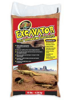 Zoo Med Excavator Clay Burrow Substrate 10 Lb.