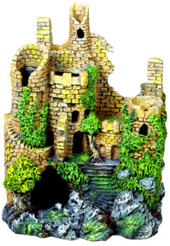 Blue Ribbon Exotic Environments Forgotten Ruins Crumbling Castle 3.25x2.5x4in