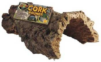 Zoo Med Natural Cork Rounds Cork Bark Small