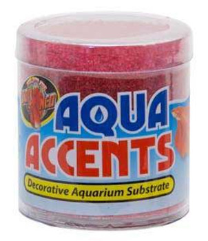 Zoo Med Aqua Accents Radical Red Sand 1/2 Lb.