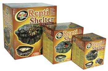 Zoo Med Repti-shelter 3 In 1 Cave Small