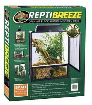 Zoo Med Reptibreeze Aluminum Screen Cage Extra Large