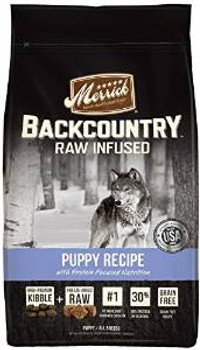 Merrick Backcountry Puppy Recipe 4 LB