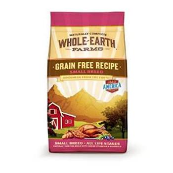 Merrick Whole Earth Farms Grain Free Small Breed Recipe