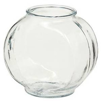 Anchor Hocking Classic Glass Drum Style Fish Bowl .5 Gal