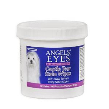 Angels' Eyes Gentle Dog Tear Stain Wipes 100ct