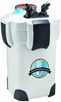 Aquatop Canister Filter With Uv Sterilization 370gph