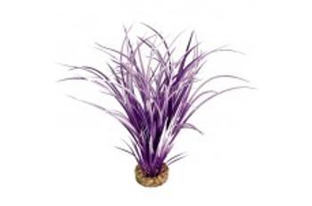 Blue Ribbon Colorburst Florals Ocean Grass Plant Purple And White