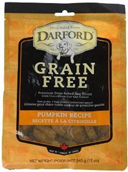 Darford Grain Free Biscuits Pumpkin Recipe 12oz