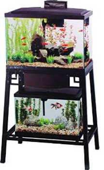 Aqueon Forge Metal Aquarium Stand Ready To Assemble 24x12