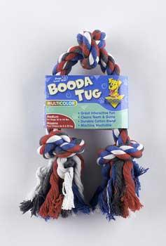Aspen Pet Booda 3-knot Rope Tug Medium Multicolor