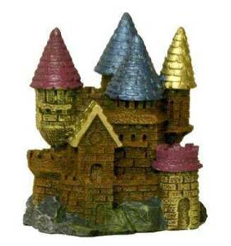 Blue Ribbon Exotic Environments Aqua Critter's Ii Castles 2x2x2.5in