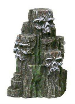 Blue Ribbon Exotic Environments Aqua Kritters II Skull Cave 2 x 2 x 2.5 inches. Our adorable 2in mini Skull cave is the safe and ideal decoration for all aquarium and terrarium settings.