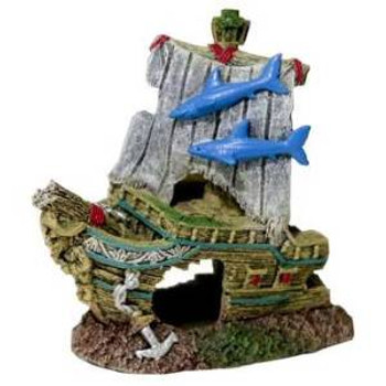 Blue Ribbon Exotic Environments Small Wonders Iii Ships Bow Small 4in