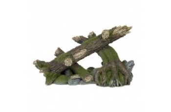 Blue Ribbon Exotic Environments Moss Covered Roots And Logs