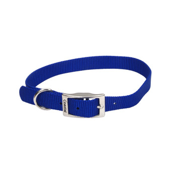 Coastal Single-ply Nylon Collar Blue 3/4x16in