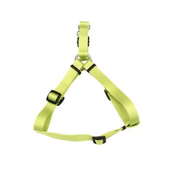 Coastal Standard Adjustable Nylon Harness Lime 1x 26-38in