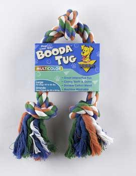 Aspen Pet Booda 3-knot Rope Tug Large Multicolor
