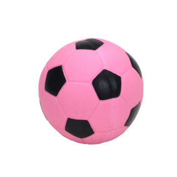 Coastal Rascals Latex Toy Soccer Ball Pink 3in