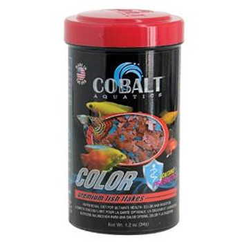Cobalt Color Premium Fish Flake 1.2z