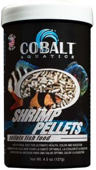 Cobalt Shrimp Pellet Fish Food 4.5oz